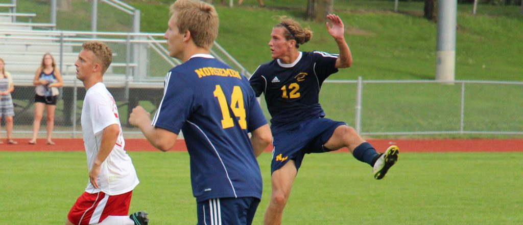 Sikkema in action against Whitehall on Tuesday. Photo/Jason Goorman.