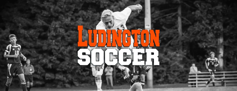 Caleb Schoon scores three goals in Ludington's win over OV in boys soccer