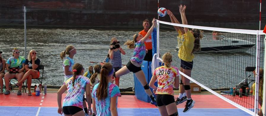 """Grand Haven girls continue domination of """"Battle of the Boardwalk"""""""