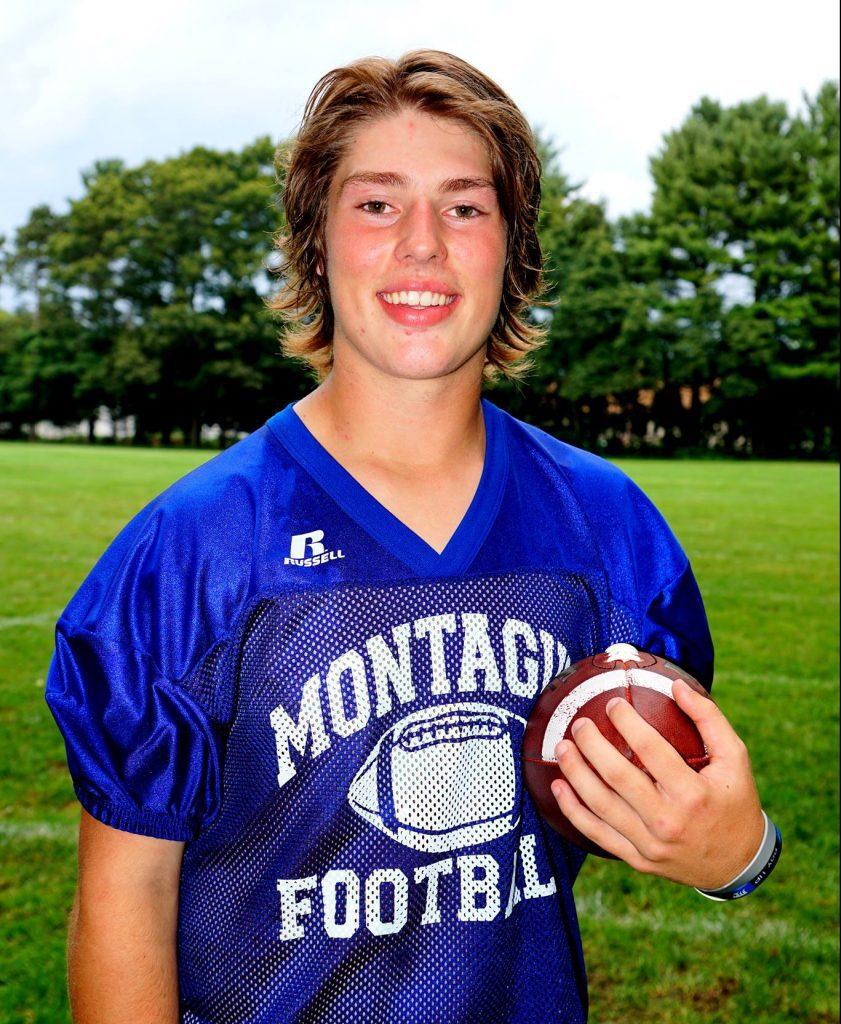 New Montague quarterback Dylan Stever. Photo/Leo Valdez