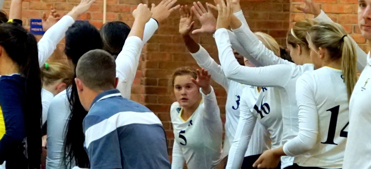 MCC Jayhawks volleyball team drop huge lead, fall to GRCC in five sets