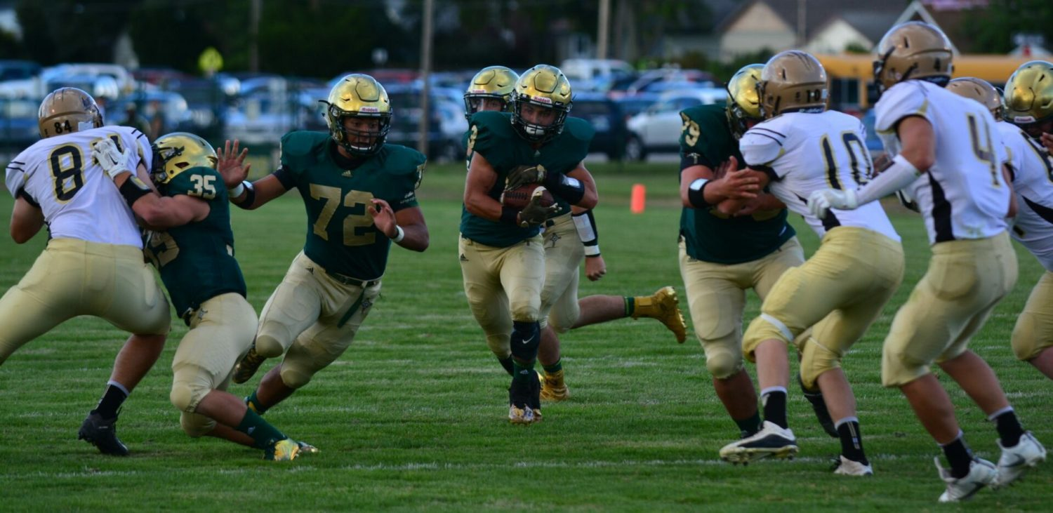 Muskegon Catholic gets past St. Ignace in rematch of last year's state semifinals