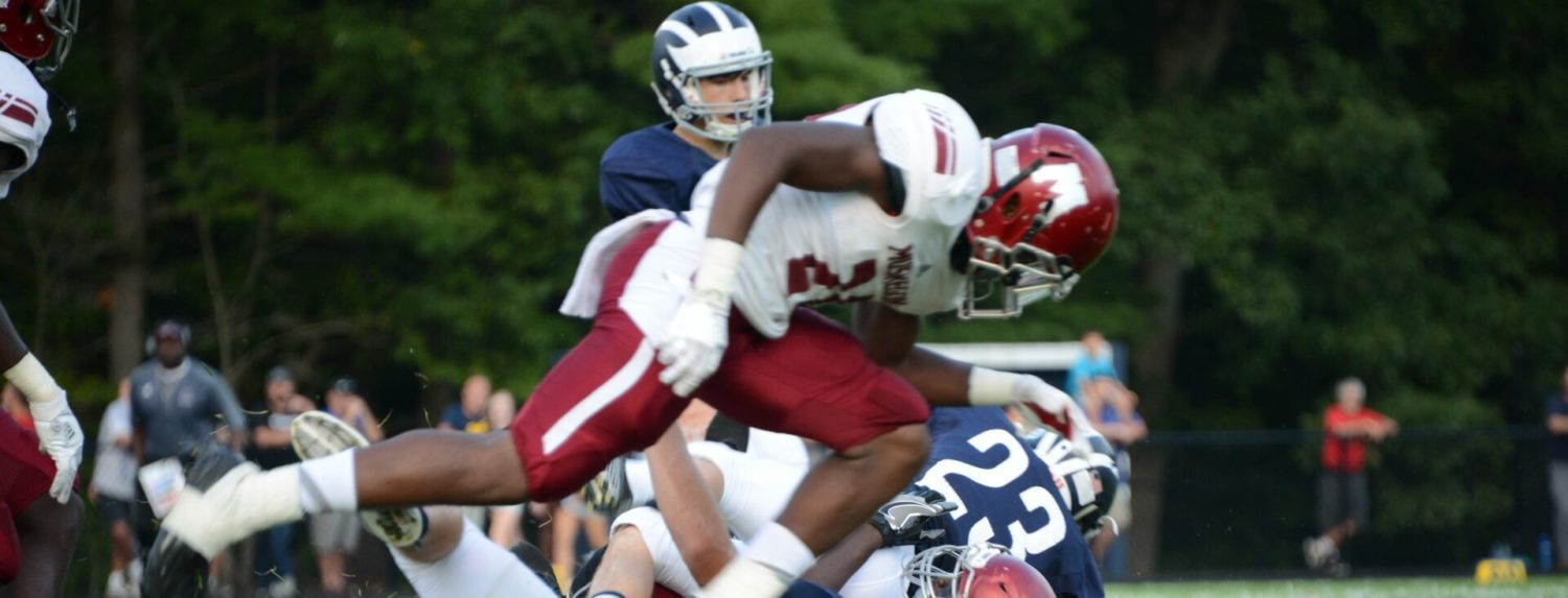 Muskegon Big Reds give Fruitport a rude welcome to O-K Black, 63-7