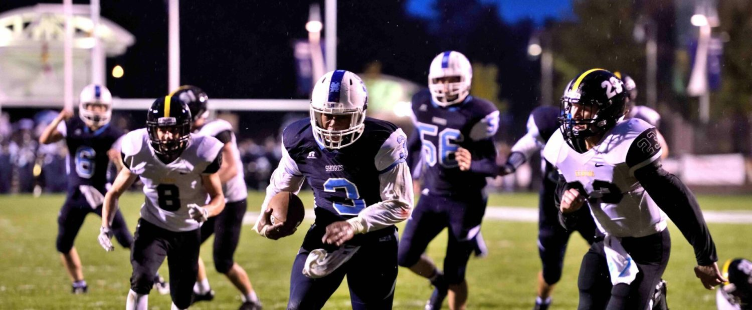 Mona Shores wins second straight with a big 48-21 win over Kenowa Hills