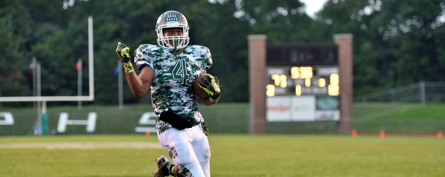 Stevenson's TD with five seconds left gives R-P a 39-34 win over Mona Shores
