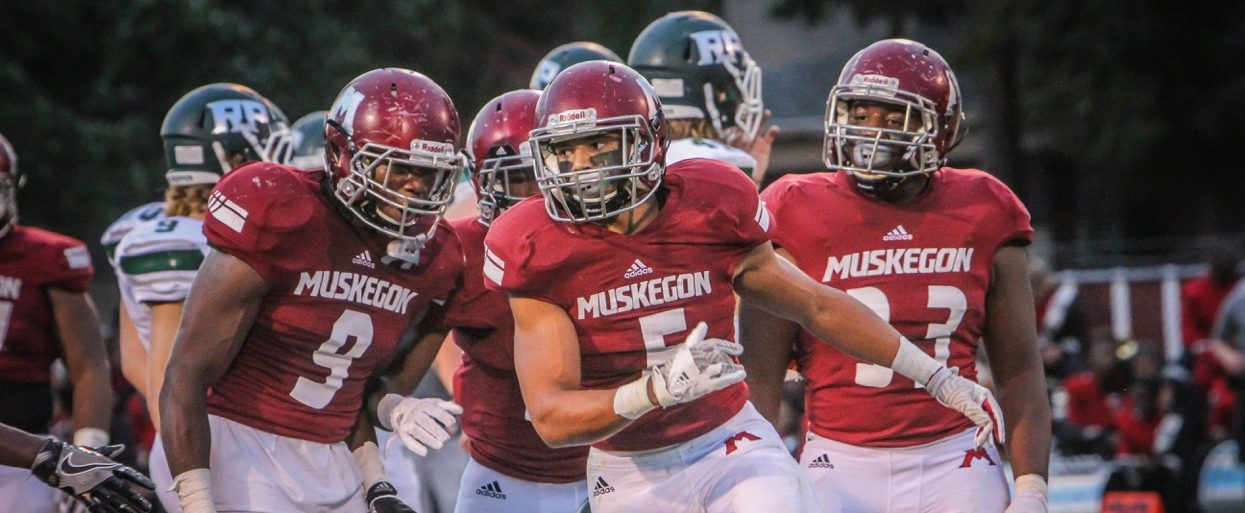 Muskegon Big Reds thump Reeths-Puffer 66-0, move into first in O-K Black