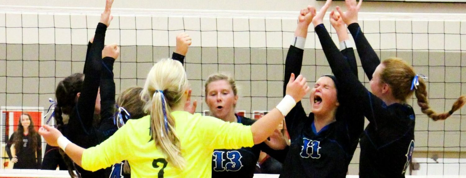 Montague volleyball team gets a big league win over rival Whitehall