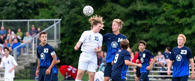Mona Shores boys soccer team clips Fruitport in OK Black Conference action