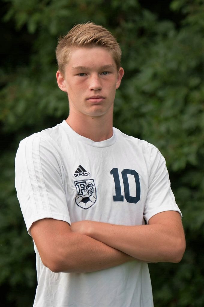 Fruitport's Zack Shane is moving up the school's career scoring list.