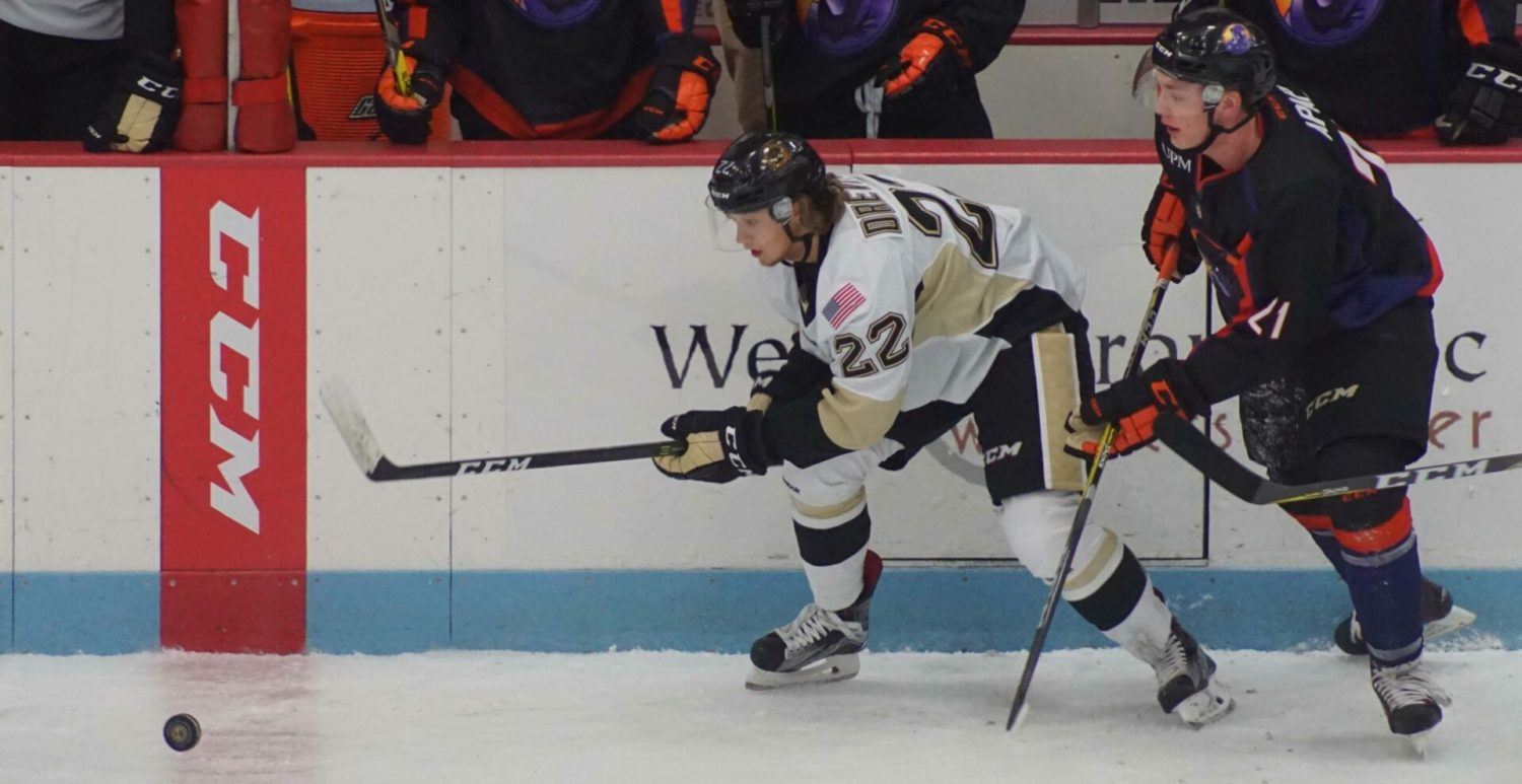 Lumberjacks' winning streak snapped at four with a 3-1 loss to Youngstown Phantoms
