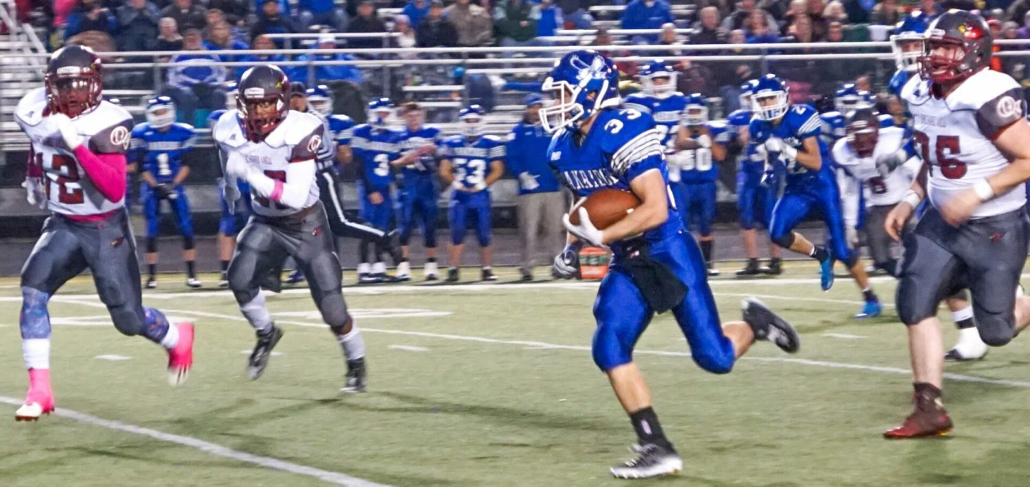 Oakridge gears up for playoffs by pounding archrival Orchard View, 47-0