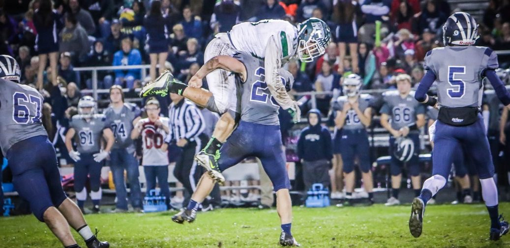 Fruitport stuns Reeths-Puffer 21-6 in rivalry renewal, dashing the Rockets' playoff hopes