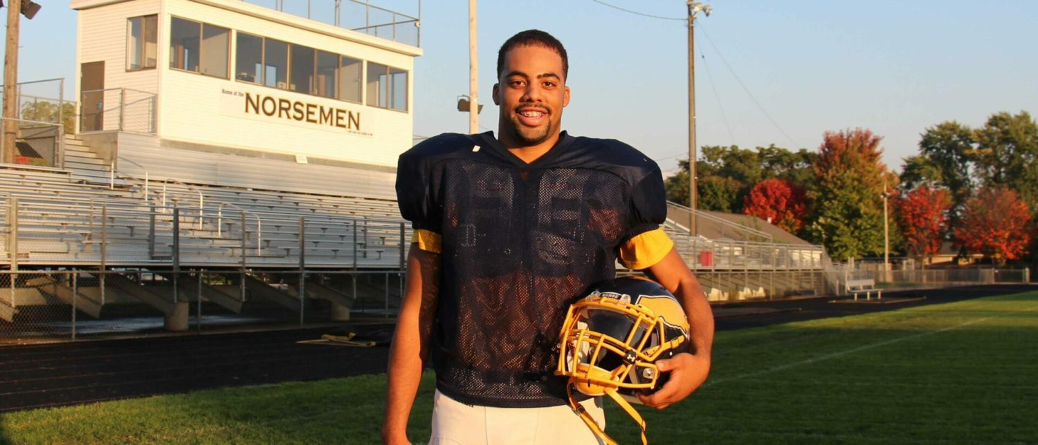 Vernonell Smith's skills were on display in N. Muskegon's stunning upset of Montague