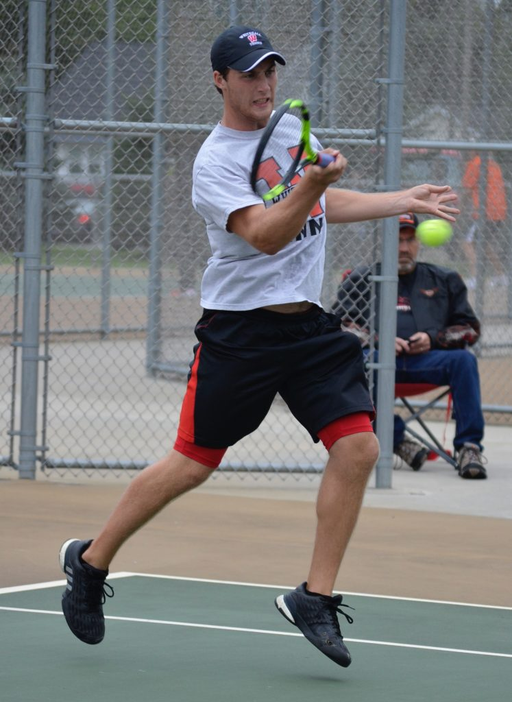 Andy Esh has been a key leader for the Whitehall tennis team.