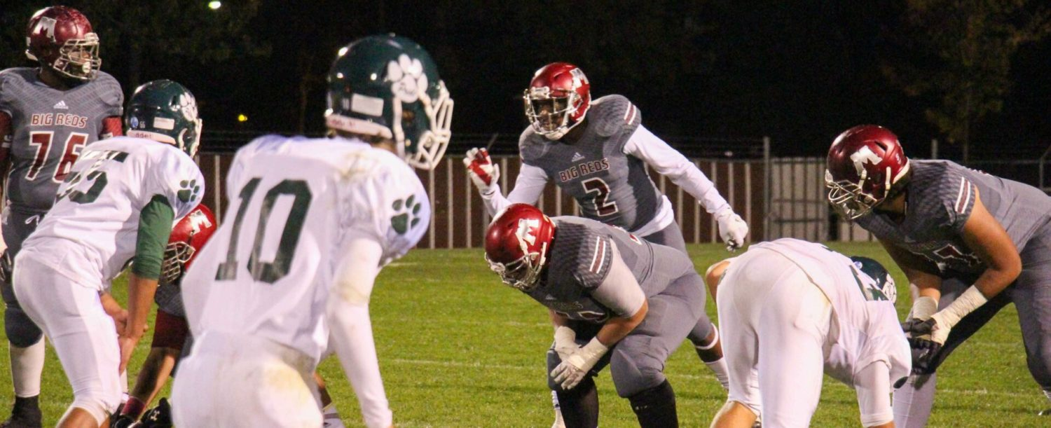 Big Reds bomb Jenison 63-17, win  conference title and prepare for playoffs