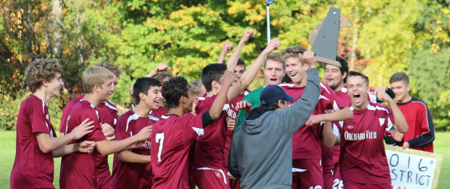 Orchard View ends district title drought, tops Shelby 2-1