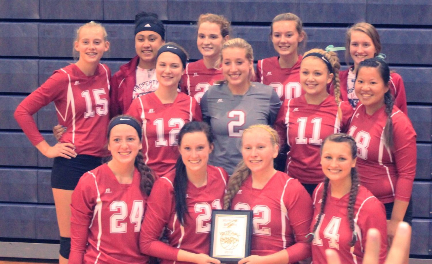 The Kent City volleyball team switched over to the CSAA after 2013-2014 school year. The Eagles last won a district title in 2000.