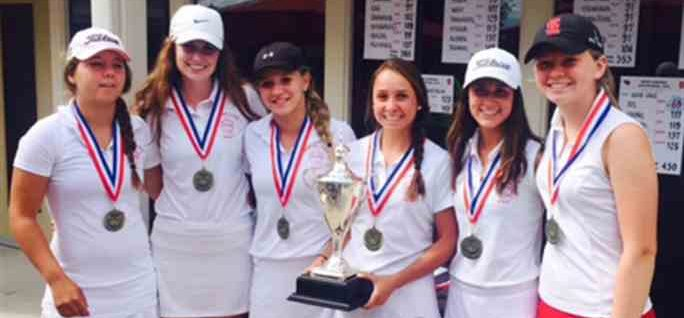 Spring Lake girls golf team gunning for third straight state title this weekend