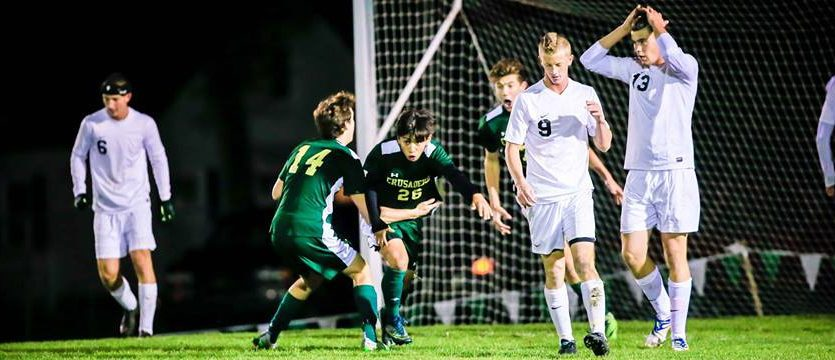 Crusaders soccer team wins sudden death thriller, heads to state semifinals