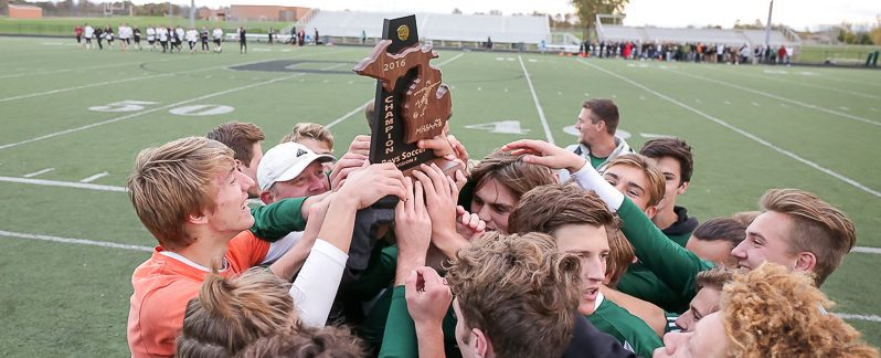 Reeths-Puffer downs Ludington 2-1 in OT shootout, wins first district soccer title