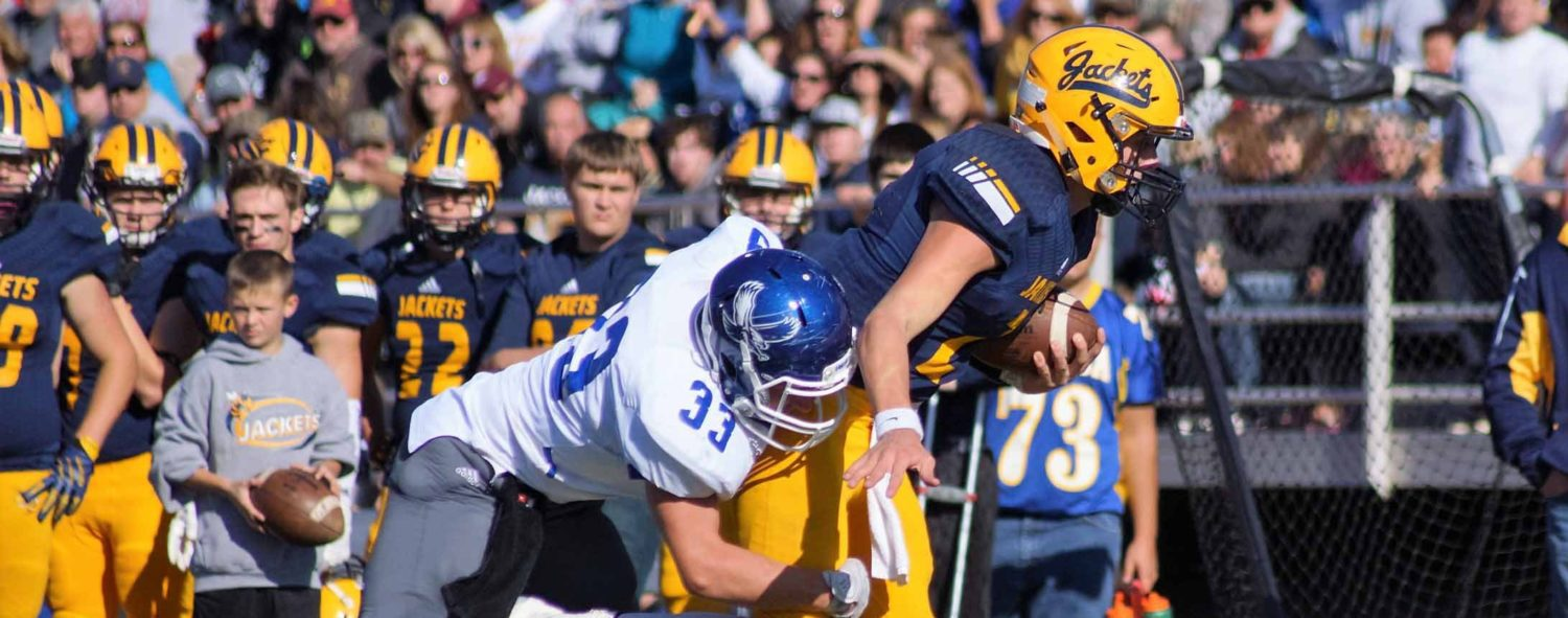 Oakridge football team fades after Luttrull injury, falls 47-6 to Ithaca in D5 districts