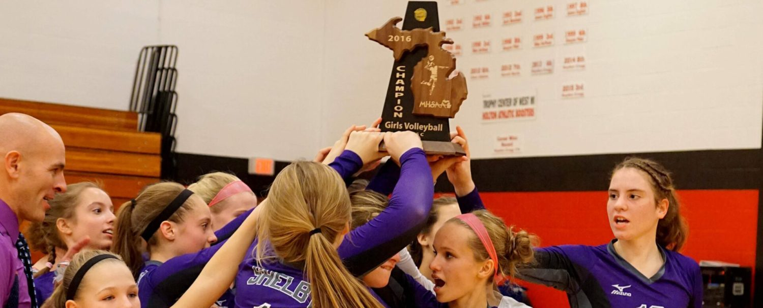 Shelby reclaims its Class C district volleyball title by cruising past Holton