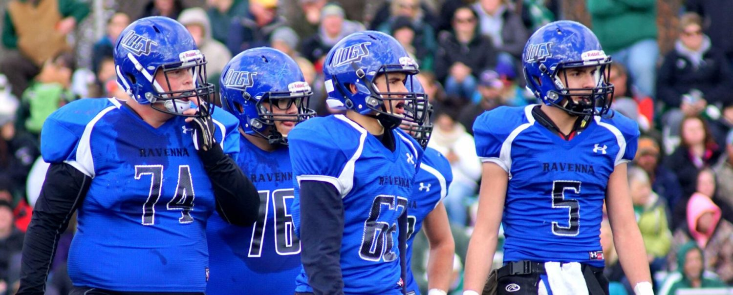 Ravenna stunned by LeRoy Pine River 42-14, ducks out of Division 6 state playoffs