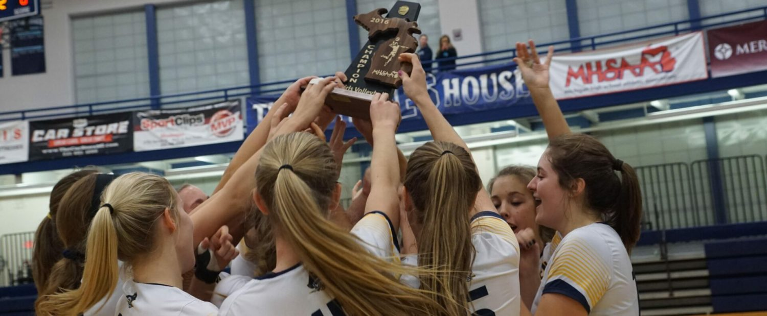 Grand Haven maintains its domination of the Class A district volleyball tournament
