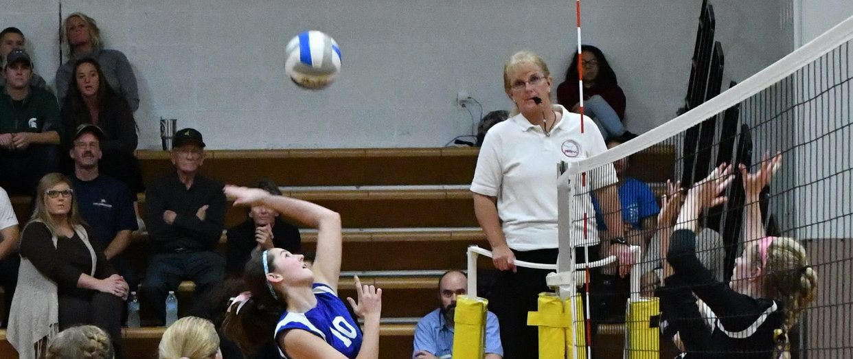 Fruitport Calvary stuns Muskegon Catholic in Class D district volleyball