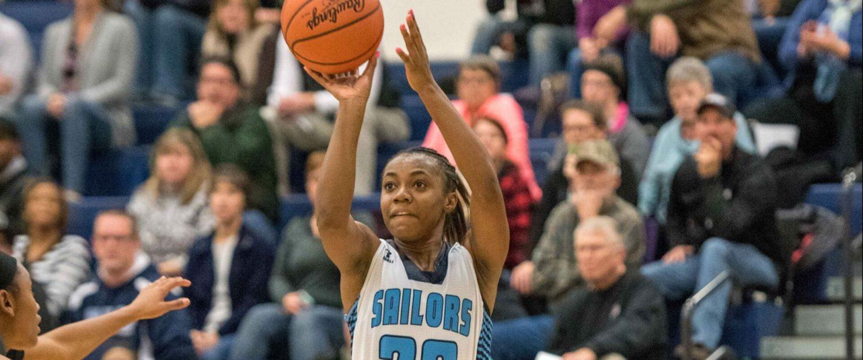 Jordan Walker scores 33, Mona Shores girls open their season with a big victory