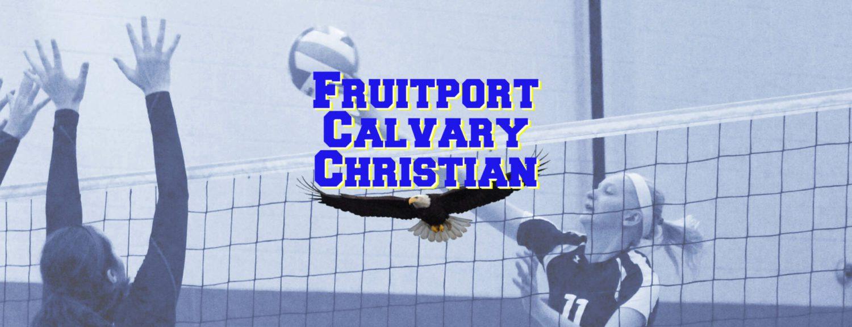 Fruitport Calvary cruises to district finals after sweeping past Big Rapids Crossroads
