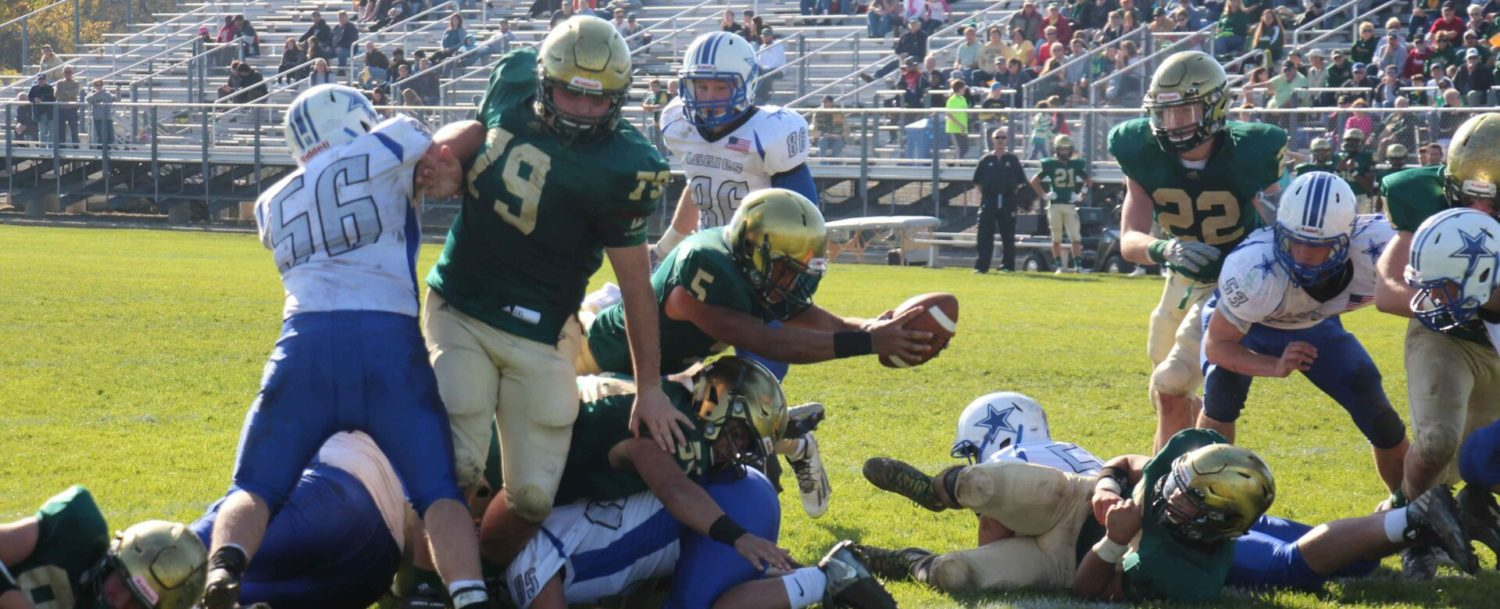 Crusaders roll past Beal City 42-0 in football districts, prepare for tough challenge against Frankfort