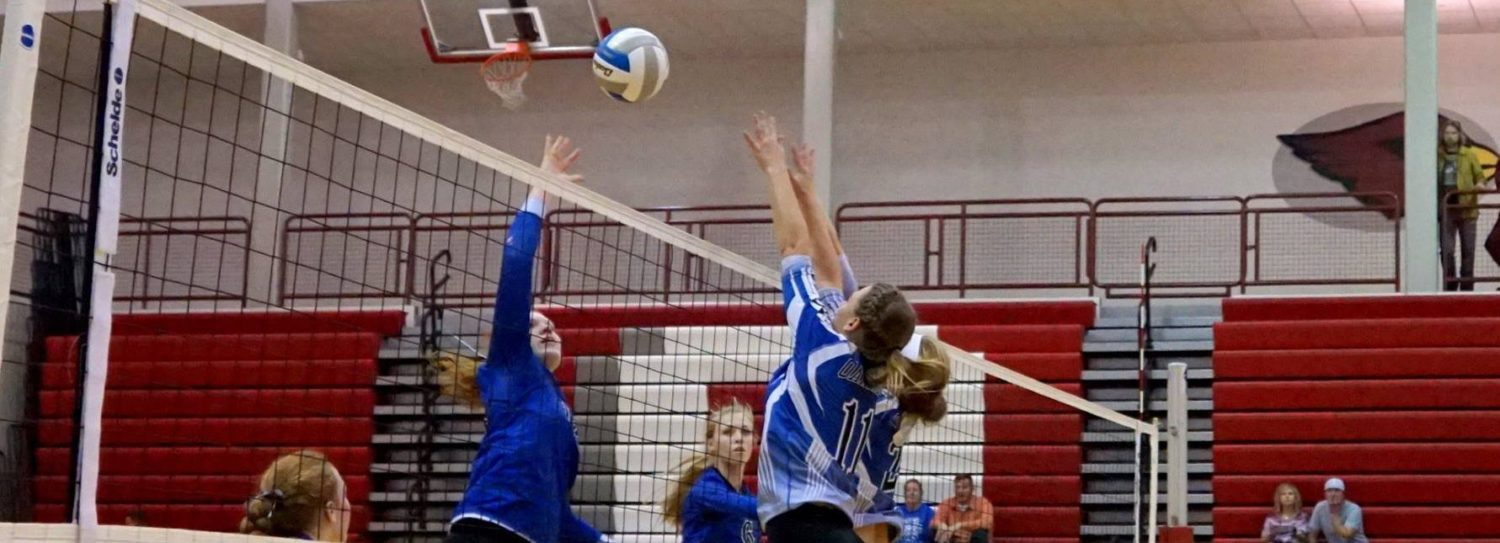 Montague volleyball team starts down the tournament trail with a win over Oakridge
