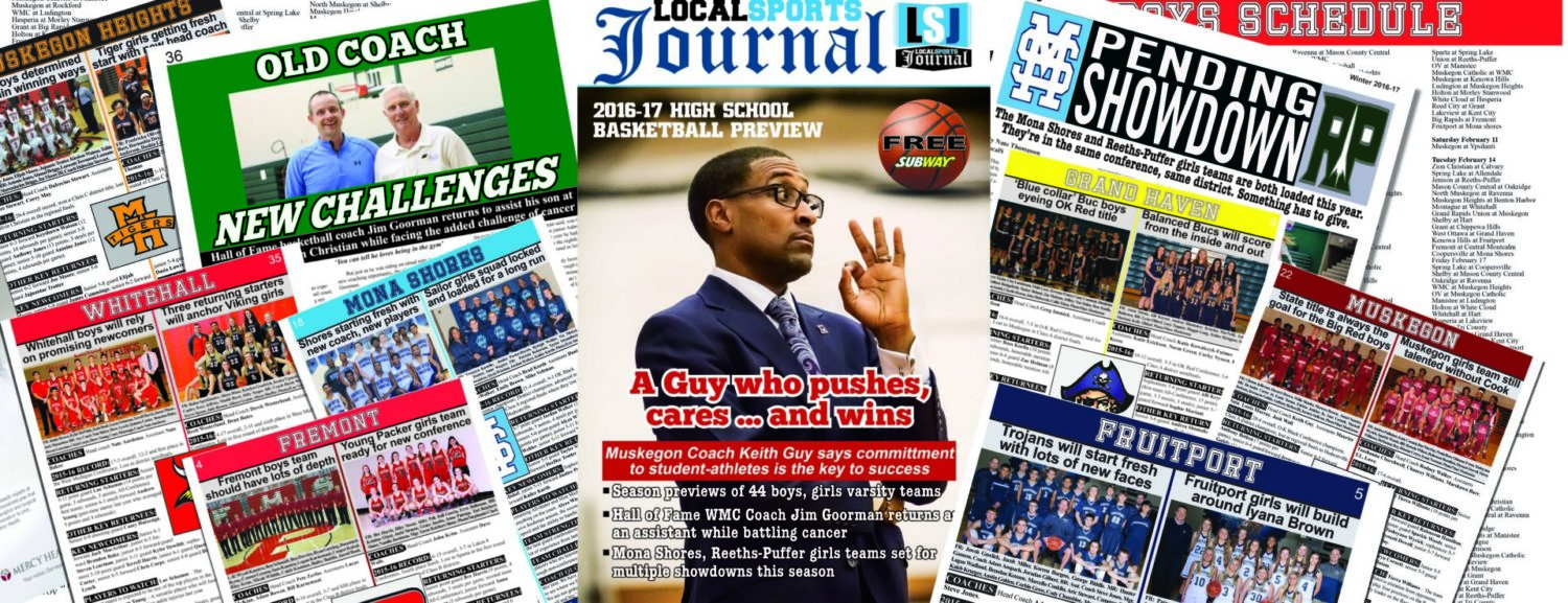 LSJ high school basketball preview section hits the streets in Muskegon area