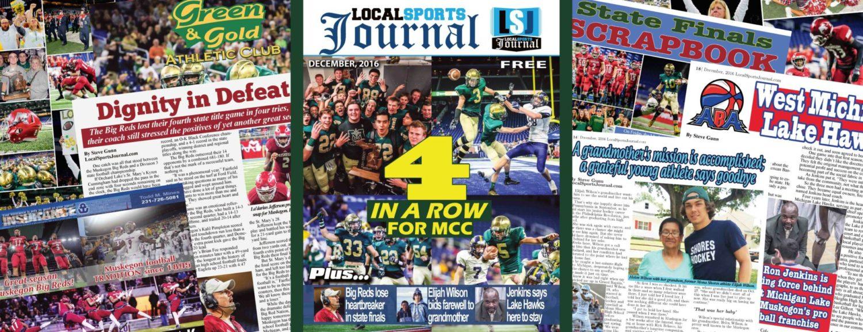 LSJ magazine hits streets with Muskegon Catholic, Big Reds, Elijah Wilson and Lake Hawks