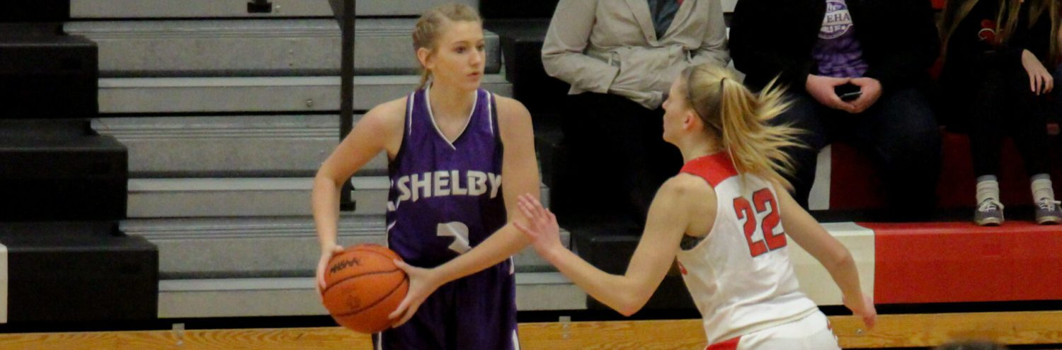 Jenny Beckman's 23 points help Shelby girls pull away from Whitehall, 55-38