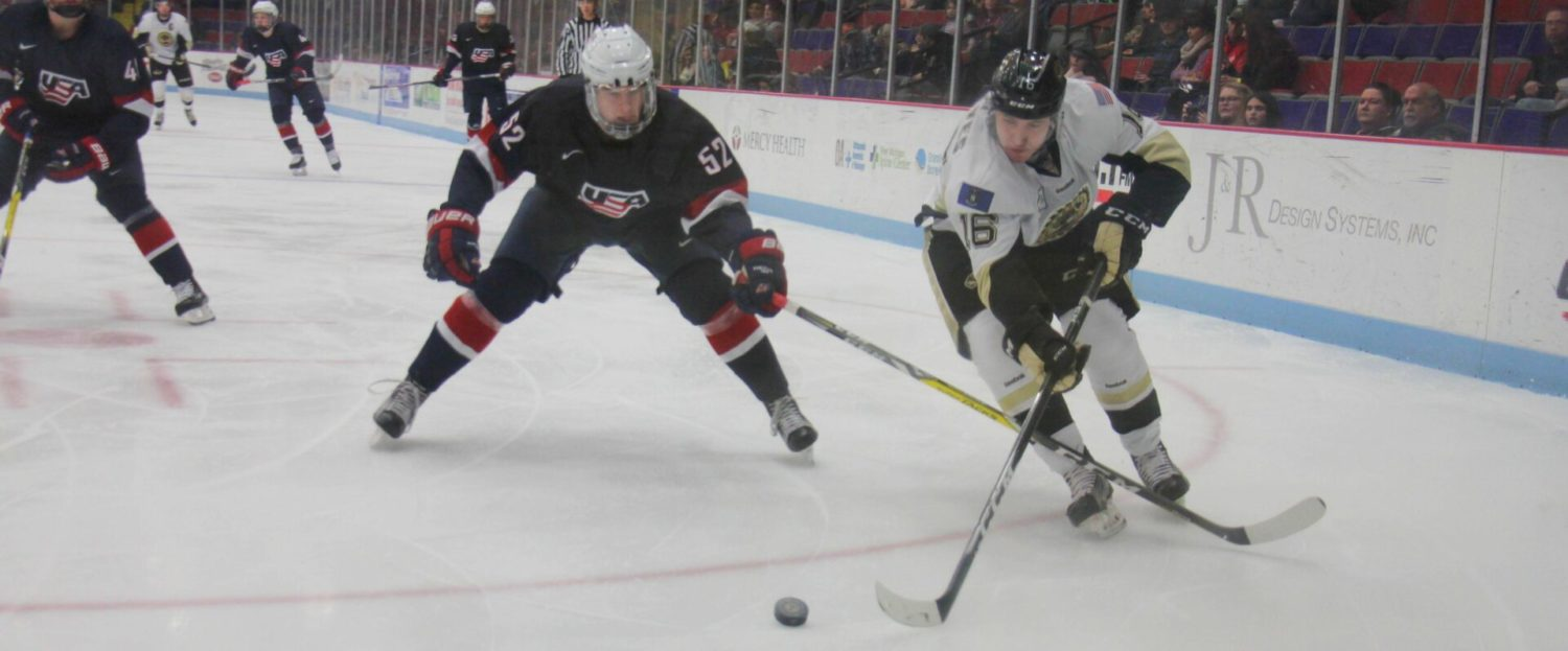 Lumberjacks get their first home victory of December, 3-1 over Team USA Under-17s