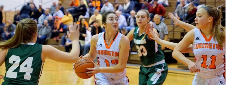 Ludington girls basketball team rallies to beat WMC in an early Lakes 8 showdown