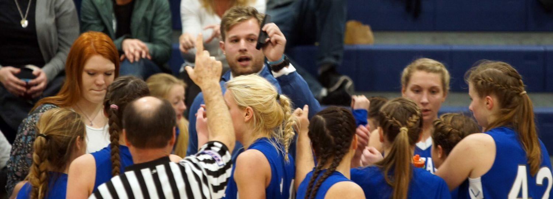 Montague football legend Cody Kater blazing a new trail as girls basketball coach