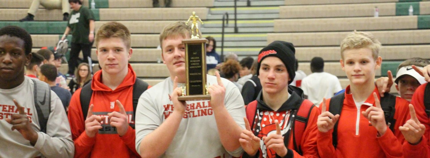 Levi Six finally get his city wrestling title; Whitehall wins team championship again