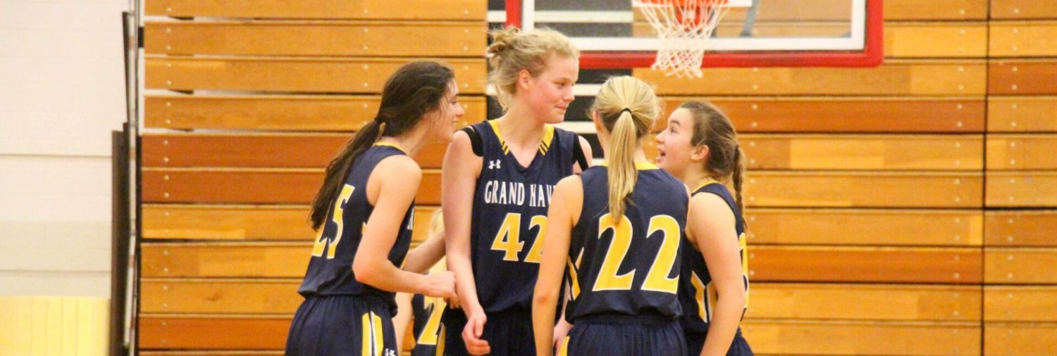 Road tested Grand Haven girls hoops squad breezes past Big Reds