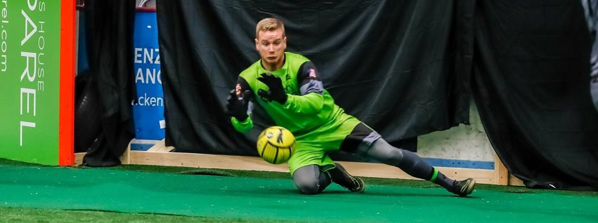 Muskegon Risers roar back to gain a tie in their first indoor league game