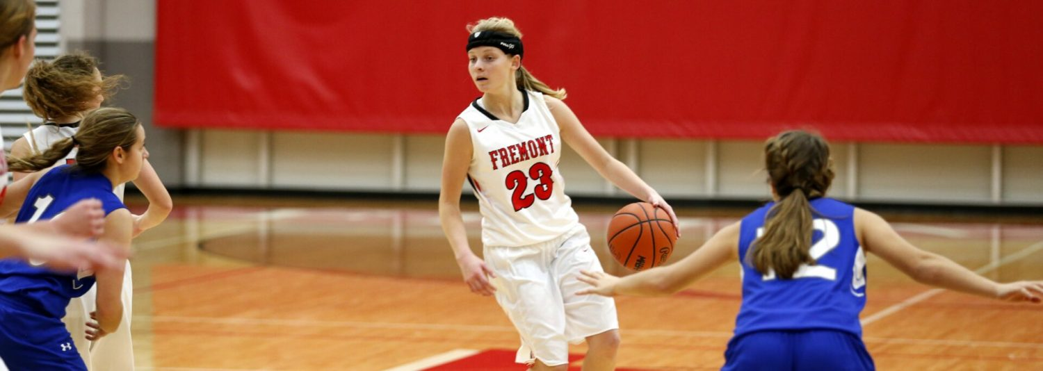 Fremont junior Bre Harris is a record-breaking thief on the basketball court