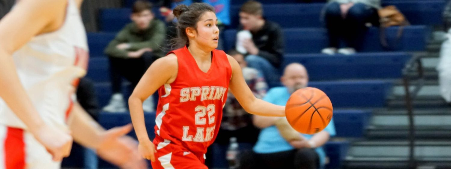Reiko Johnson heats up, Spring Lake rallies past Whitehall in Class B districts