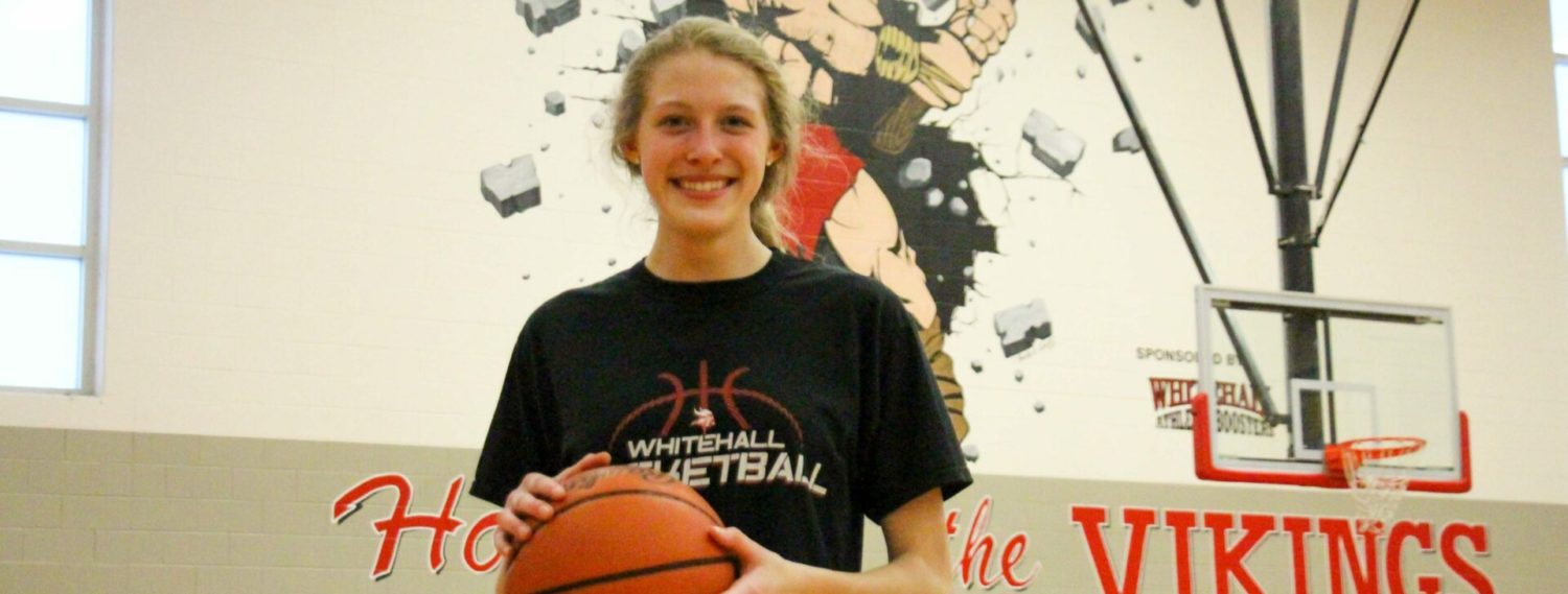 Whitehall's Julie Brown has made huge progress this season, and so has her team