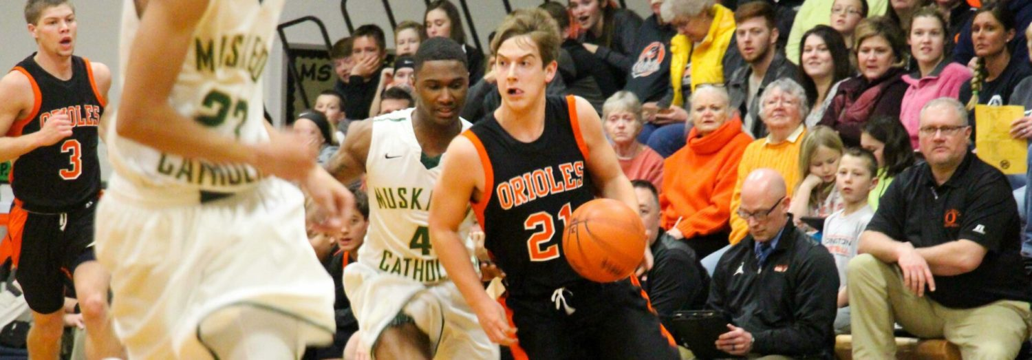 Ludington boys clinch share of first conference hoops title since 2010