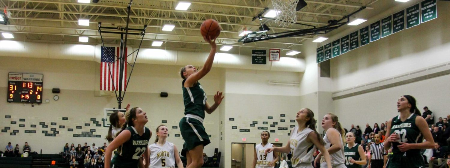 WM Christian girls roll past North Muskegon, advance to Class C district semifinals
