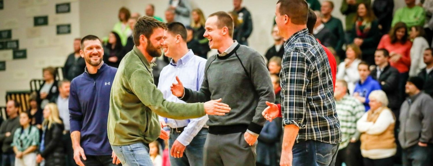 WMC celebrates 25th anniversary of 1992 basketball state title and Coach Jim Goorman's win over cancer