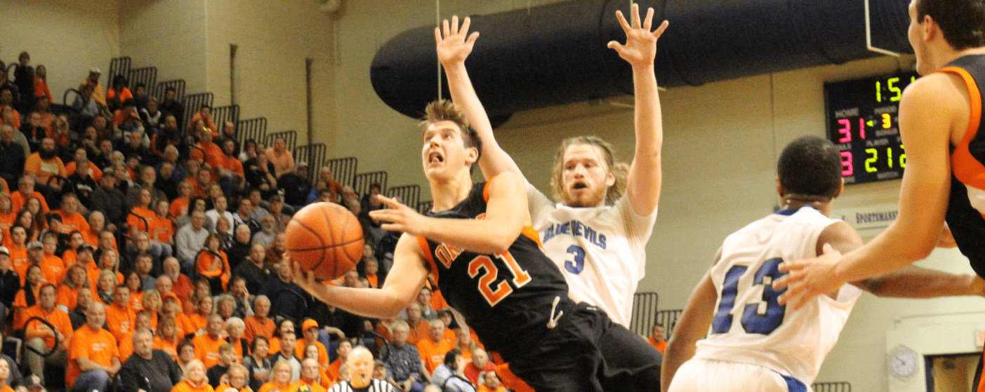 Ludington erupts for a huge 69-43 win over Lake Fenton in Class B state quarterfinals