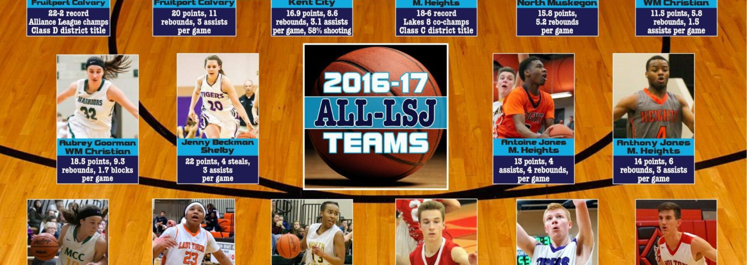 Twenty-eight prep standouts chosen for the first All-LSJ basketball honor squads